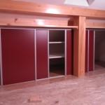 Vestavná skříň do podkroví