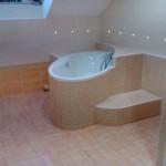 Vestavba koupelny do podkroví